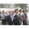تجمع مقابل دفتر نمايندگي سازمان ملل در مشهد